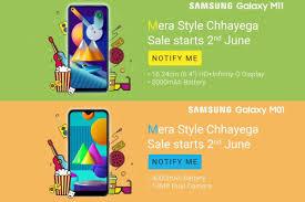 Samsung Galaxy M11, Galaxy M01 ...