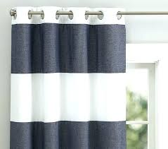 shower thoughts you rugby stripe curtains curtain navy green amazing and rug blackout panel pottery barn