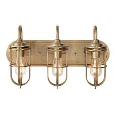 antique bathroom light fixtures. urban renewal dark antique brass three light vanity fixture bathroom fixtures m