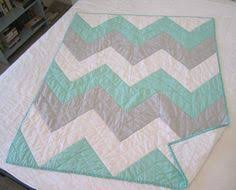 SPECIAL LISTING for JEN Chevron Baby Quilt | Quilt, Blanket stitch ... & SPECIAL LISTING for JEN Chevron Baby Quilt | Quilt, Blanket stitch and  Colors Adamdwight.com