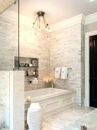 drop in bathtub surround bathroom tub surround tile ideas transitional master gray tile drop in bathtub