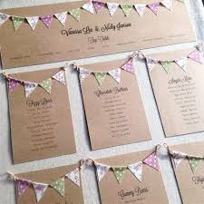 wedding table plan inspiration and advice mini bunting, table Wedding Thank You Bunting Uk bunting is a popular way give a wedding a vintage feel this cute table plan Succulent Thank You Bunting