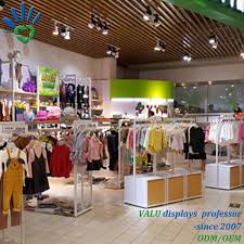 Furniture Retail Store Design China Retail Kids Garment Shop Clothing Store Interior