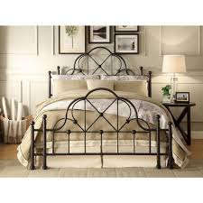 Foremost Emma Black Queen Bed Frame-QL-KDB10 - The Home Depot