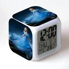 digital office wall clocks. perfect wall best office wall clocks desk cinderella alarm clock  despertador digital lcd watch led for