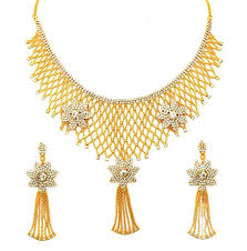 Necklace Design Picture Eshopitude Indian Traditional Design Full Neck Gold Plated Necklace Set For Women Girls