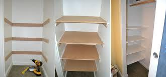 create a built in closet