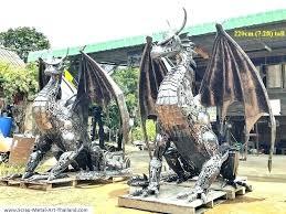 disney solar garden statues yard for dragon stone fairy welsh outdoor sculptures cement large disney garden statues