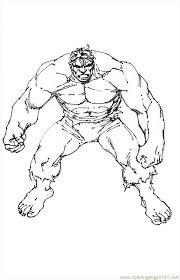 The vivid coloration of comic book characters is another advantage of these coloring pages as they let your kids learn a lot about colors while having fun with their favorite characters. Coloring And Drawing Hulk Coloring Pages Printable Free