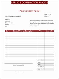 Employee Invoice Template Free Labor Invoice Decent Parts And Labor Invoice Template Free With