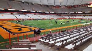 Su Dome Seating Chart Carrier Dome Section 105 Home Of Syracuse Orange