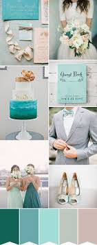 An Aqua and Teal Wedding - How to Create Perfection