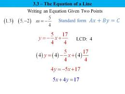 write an equation of the line in point slope form calculator diy standard form calculator