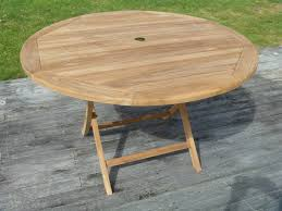 round outdoor table.  Table Teak 1 2m Round Table 16 Jpg On Outdoor