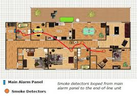 wiring a smoke alarm diagram wiring diagram fire alarm smoke damper wiring at Wiring Smoke Alarm And Fire Control System Purge