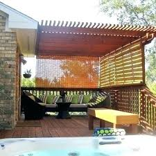 bamboo roll up blinds outdoor hanging outside for temporary privacy sunscreen roller french doors blind