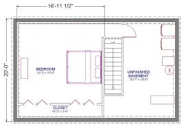 basement bedroom plans