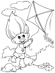 Troll Doll Drawing At Getdrawingscom Free For Personal Use Troll