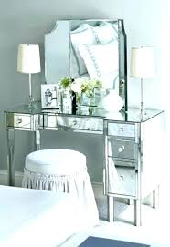 Fabulous design mirrored Furniture Bedroom Mirrored Aliciakeys Design Mirrored Vanity Chair Phenomenal Mirrored Desk Vanity Chair Target