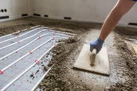 Heizleistung und eignung für fußböden. Zementestrich Aufheizen So Verlegen Sie Ihn Auf Der Fussbodenheizung