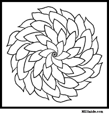 Small Picture flower Page Printable Coloring Sheets Flower Mandala Coloring