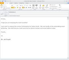 Gallery Of Sample Of Email