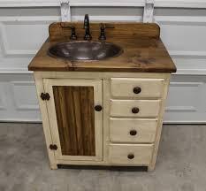 rustic white bathroom vanities. Gallery Photo Rustic White Bathroom Vanities