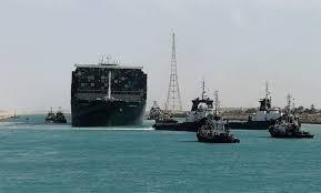 """Se reanudó el tráfico en el canal de Suez, tras ser desencallado el """"Even  Given"""""""