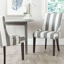 image of perfect striped dining chairs