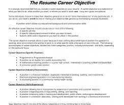 First Job Resume Objective Examples Statement For On Example