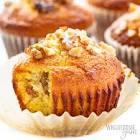 banana bread muffins low carb low sugar