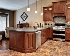 Contemporary Kitchen Wall Colors With Cherry Cabinets Design Pictures Remodel Decor And Ideas