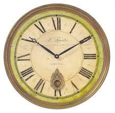 captivating 18 wall clock of regency b rossiter by timeworks 101 200 clocks