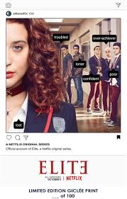Amazon.de: Lost Posters Seltenes Poster Netflix Elite Limited 2018  Nachdruck #'d/100!! 30, 5 x 45, 7 cm