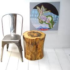 ... Creative Home Furniture Designs Using Tree Stump End Tables : Archaic  Home Furniture Ideas Using Cute ...