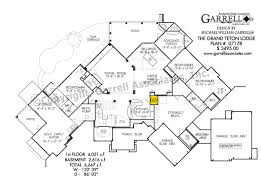Grand Teton Lodge House Plan House Plans By Garrell Associates Inc - House with basement plans
