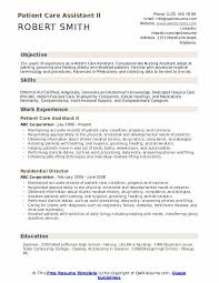 Sample Charting For Hospice Patient Patient Care Assistant Resume Samples Qwikresume