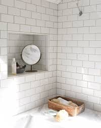 Beautiful subway tile bathroom remodel renovation Bathroom Ideas Photograph By Mylene Pionilla Courtesy Of Roberto Sosa From Bathroom Of The Week 10 Things Nobody Tells You About Renovating Your Bathroom Remodelista