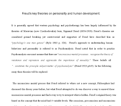 freud s key theories on personality and human development document image preview
