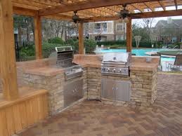 Back Yard Kitchen Small Kitchen Counter And Stand Designs For Backyard Decorations
