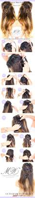 Hairstyle Easy Step By Step 31 amazing half uphalf down hairstyles for long hair the goddess 8582 by stevesalt.us