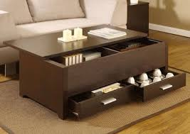 Oval Espresso Coffee Table | Affordable Coffee Tables | Espresso Coffee  Table