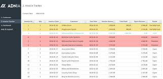 Excel Payment Tracker Template Invoice Tracker Excel Template