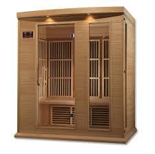 Golden Design 3 Person Sauna Maxxus 3 Person Low Emf Far Infrared Sauna Mx K306 01