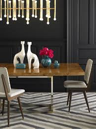 high end dining furniture. View In Gallery Wood And Metal Dining Table From Jonathan Adler High End Furniture