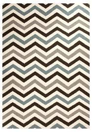 blue chevron rug brown white uk blue chevron rug