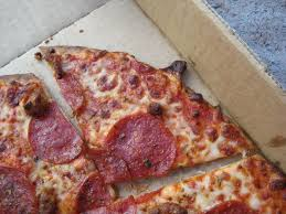 review domino s thin crust pizza