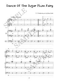 dance of the sugar plum fairy sheet music dance of the sugar plum fairy piano trio arrangement elena cobb
