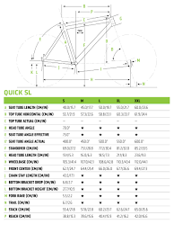 Cannondale Size Chart Height Quick 4 Cannondale Bicycles