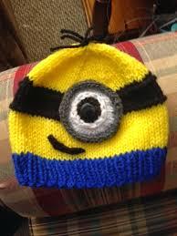 Minion Hat Crochet Pattern Awesome Kriskrafter Free Knitting Pattern A Minion Hat